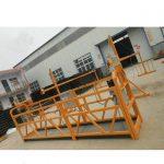menggantung perancah aluminium platform kerja dengan harga yang rendah