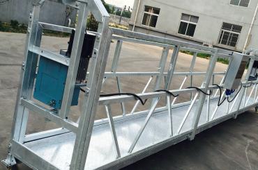 tingkap pembersihan zlp630 tali digantung platform gondola cradle dengan angkat ltd6.3