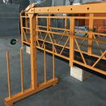 satu fasa digantung wayar tali platform 800 kg 1.8 kw, mengangkat kelajuan 8 -10 m / min